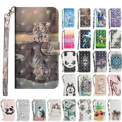 AU14.68 • Buy For IPhone 11 12 Pro Max 7 8 Plus Magnetic Leather Wallet Stand Flip Case Cover
