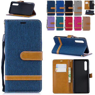 AU14.89 • Buy Wallet Case Magnet Leather Flip Shockproof Cover For HUAWEI Mate20 30 P30 P40 Y6