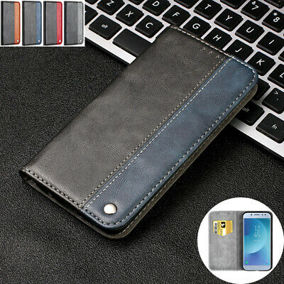 AU14.98 • Buy For Samsung Galaxy J3 J5 Pro 2017 Wallet Leather Case Magnetic Flip Card Cover