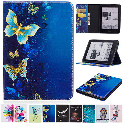 AU17.38 • Buy For Amazon Kindle Voyage Smart Patterned Magnetic Flip Leather Stand Case Cover