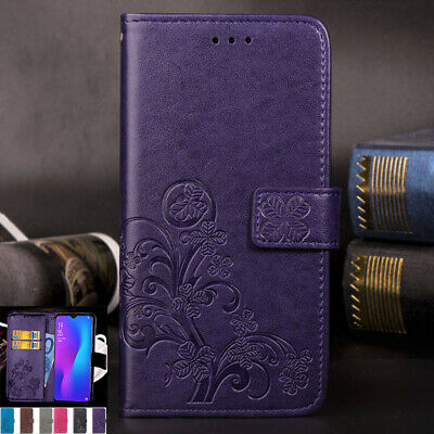 AU14.88 • Buy For OPPO AX5 A73 R11s R15 R17 Flip Leather Wallet Card Slots Magnetic Case Cover
