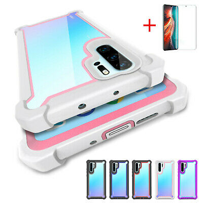 Case For Huawei P30 P40 Pro Lite Hybrid Rugged New TPU Shockproof Silicone Cover • 3.99£