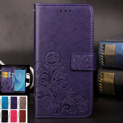 AU14.88 • Buy For Samsung Galaxy J2 J5 Pro J8 Retro Leather Wallet Magnet Flip Card Case Cover