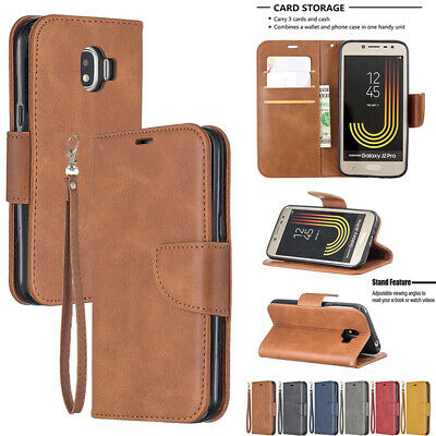 AU14.89 • Buy Samsung Galaxy J5 J7 2017 & J2Pro 2018 Leather Wallet Flip Card Cover Stand Case