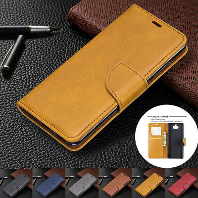AU14.89 • Buy For Sony Xperia 10 Plus XA1 XZ1 L3 Case Magnetic Flip Leather Card Wallet Cover