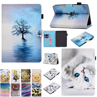 AU17.38 • Buy Smart Pattern Flip Leather Wallet Case Cover For Amazon Kindle Paperwhite 1 2 3