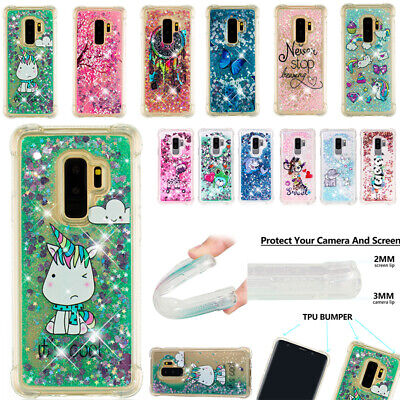 AU14.65 • Buy For Samsung Galaxy Phones Soft Silicone Glitter Quicksand Shockproof Case Cover