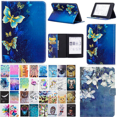 AU17.38 • Buy Smart Patterned Leather Flip Case Stand Cover For Amazon Kindle Paperwhite 1 2 3