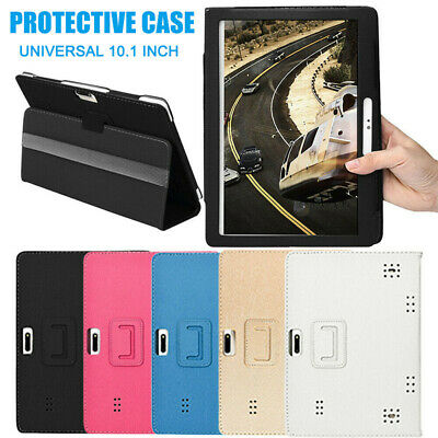 AU12.80 • Buy Universal Folding Leather Stand Case Cover For Android Tablet 10/10.1″ 24X17cm