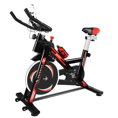 Exercise Spin Bike Home Gym Bicycle Cycling Cardio Fitness Training Workout Bike • 227.99£