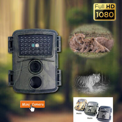 £46.35 • Buy 12MP Hunting Trail Camera HD 1080P Wildlife Scouting Cam Motion Night Vision UK