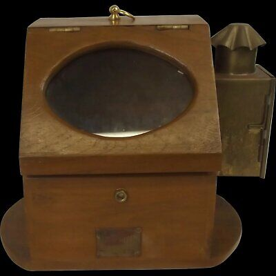 £250 • Buy Cased Ships Compass By Plath Of Germany With Oil Burner