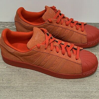 $ CDN43.73 • Buy Adidas Superstar Suede Red S79475 Mens Size 10 Rare