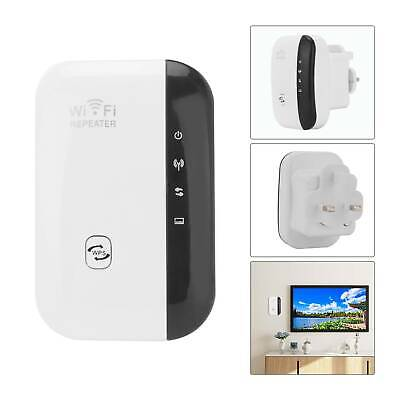 Wireless WiFi Signal Range Booster Repeater Extender Amplifier Network Internet • 11.39£