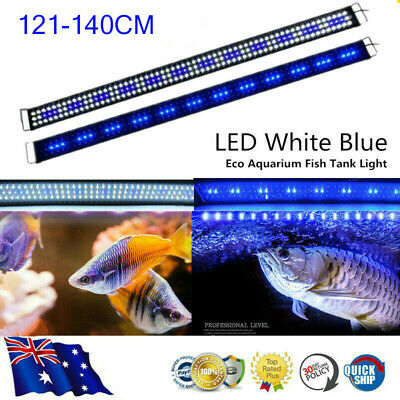 AU46.92 • Buy 120CM Aquarium LED Lighting 4ft Marine Fresh Fish Tank Light Blue White Light AU