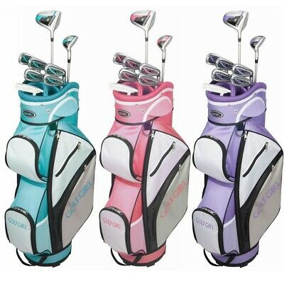 AU258.32 • Buy GolfGirl FWS3 Ladies Golf Clubs Set With Cart Bag, All Graphite, Right Hand