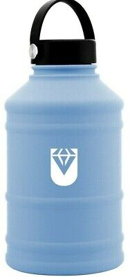 AU24.95 • Buy BLUE 2.2L Stainless Large Water Bottle Drink Kettle Sport Training Workout Gym