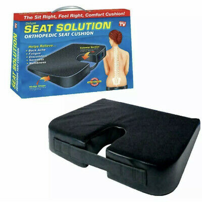 £9.39 • Buy Orthopaedic Seat Cushion Wedge Tailbone Pillow Coccyx Spine Pain Relief Solution