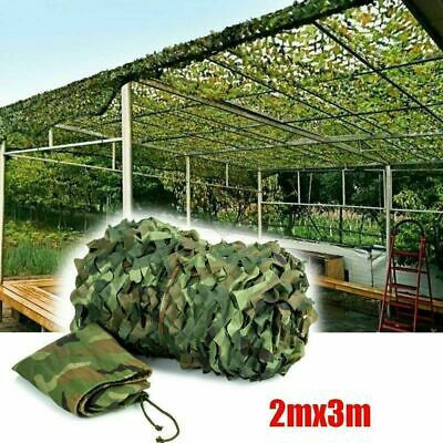 UK Army Camouflage Net Camo Netting Camping Shooting Hunting Hide Woodland & Bag • 10.34£