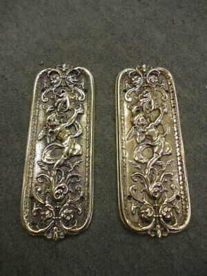 £130 • Buy Quality Pair Of Victorian Cast Brass Finger Plates