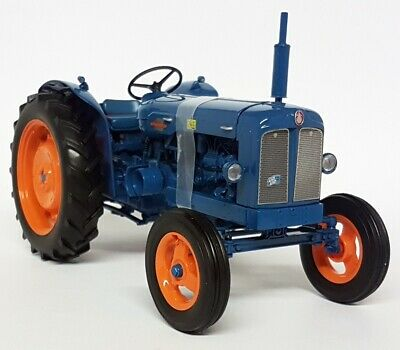 £84.99 • Buy UH 1/16 Scale 2640 Fordson Power Major 1958 Blue / Orange Diecast Model Tractor