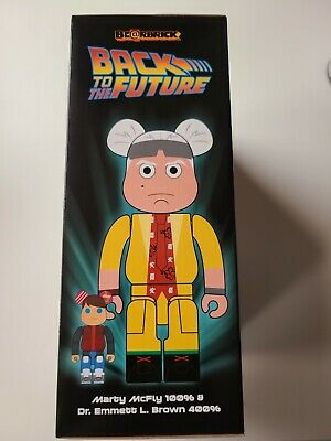 $239.99 • Buy Back To The Future 100% 400% Bearbrick Doc Be@rbrick DCON 2020 BTTF