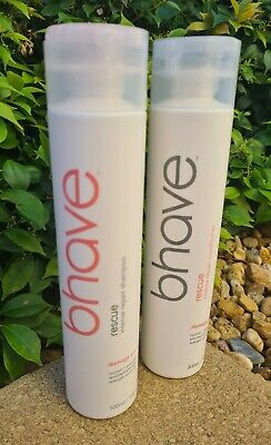 AU74.34 • Buy Bhave Rescue Keratin Shampoo & Conditioner 300ml Duo FREE POST