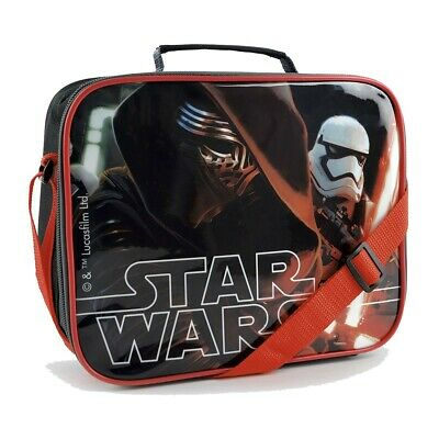 Star Wars The Force Awakens Kylo Ren Stormtrooper Insulated Lunch Bag • 9.95£