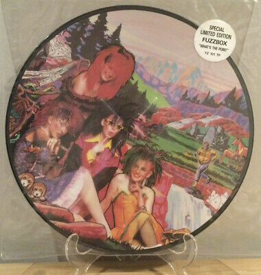 """£12.99 • Buy Fuzzbox - Whats The Point Pic Disc 12"""" Punk Vinyl"""