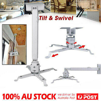 AU24.98 • Buy DLP/LCD Projector Bracket Ceiling Mount Extendable Fr Any Home Theatrer White AU