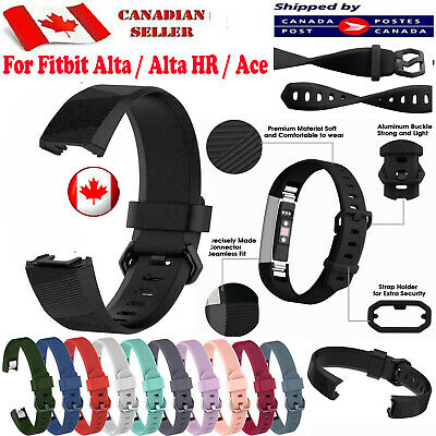 $ CDN5.79 • Buy For Fitbit Alta HR Ace Band Replacement Wrist Silicone Strap Bands Watch S L