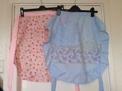 Ladies Waist/half Apron With Pocket And Frill. Length 21  • 5.25£