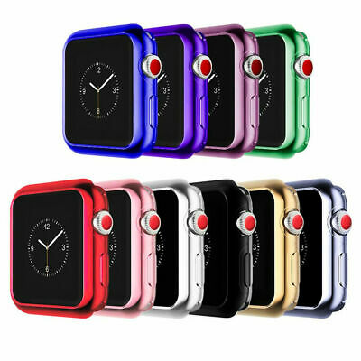 $ CDN9.98 • Buy For Apple Watch 44mm Series SE 6 5 4 (3 Pack) Case Cover TPU Screen Protector