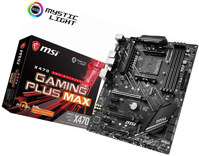 AU230.64 • Buy Msi X470 Gaming Plus Max