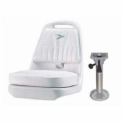"""$ CDN365.25 • Buy Wise Pilot Chair With 18"""" Pedestal Seat Package #1, WD013 & WP23-15S Boat Mari"""