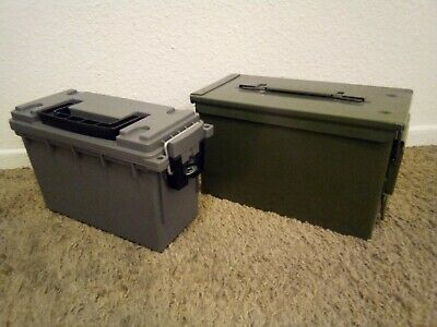 $26 • Buy Glossy Powder Coated OD Green M2A1 Ammo Can UPDATE