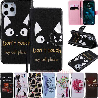 £4.97 • Buy For IPhone 12 11 Pro Max 11 XR SE 6s 7 8 Magnetic Flip Wallet Leather Case Cover
