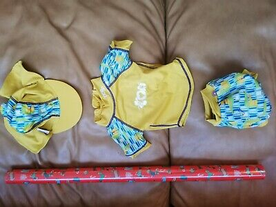 £15 • Buy CLOSE PARENT Swimming Suit Set, 0-3.months Tiny, Used 1s Only