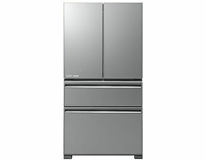 AU2599 • Buy New Mitsubishi 630L Argent Silver French Door Fridge MRLX630EMGSLA2
