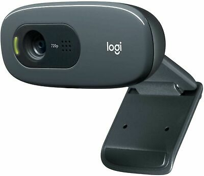 AU38 • Buy Logitech C270 HD 720P Webcam Wired USB Computer Camera With Built-in Mic