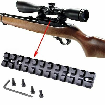$20.52 • Buy Scope Sight Mount Low Profile Base Weaver Picatinny Rail Slot For Ruger 10/22 11