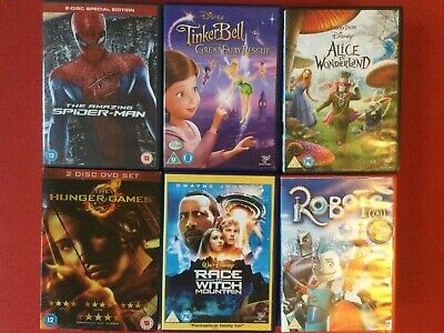 Up To 50% Discount Dvd Kids/teen Movies Children Disney/family Films & Free P&p • 1.99£