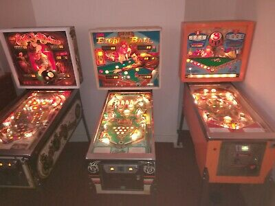 3 Pinball Games From The Williams Bally 8 Ball Series • 4,450£