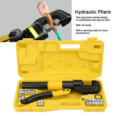$ CDN103.69 • Buy Hydraulic Pliers YQK-70 Hand Crimpers 6 Tons Integral Portable Pressure Crimping