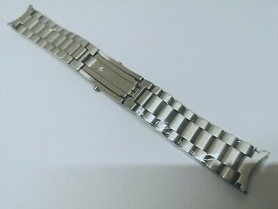 £28 • Buy 20mm Stainless Steel 3 Links Omega Seamaster Replacement Strap Watch Bracelet