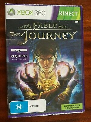 AU5.59 • Buy Brand New & Sealed!   FABLE THE JOURNEY  XBOX 360 Game  (AU Seller Free Postage)