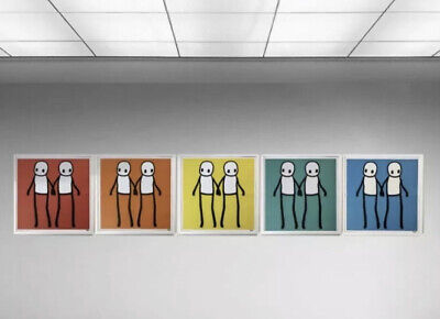 STIK SET OF 5 Limited Edition Posters Un Signed Mint • 2,500£