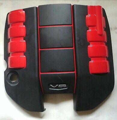 AU295 • Buy VE VF Holden Black And Red Engine Cover SS SSV Commodore V8 6.0 6.2 LS2 LS3