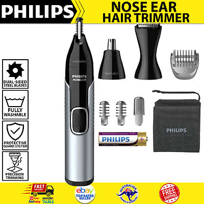 AU56.26 • Buy Philips Norelco Nose Trimmer 5000 Mens Ear Eyebrow Hair Shaver Cordless Grooming