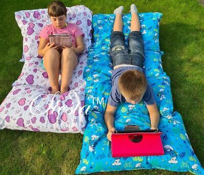 £25 • Buy Kids Floor Lounger Seats Pillow Cover Soft Luxurious Fabric Perfect Cushion Fun